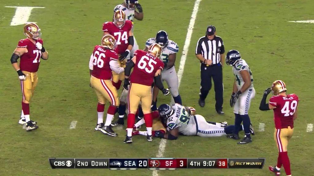 NFL Seahawks vs 49ers Full Game 9/25/16 (NFL Week 3 2016) Madden 17 Game Simulation