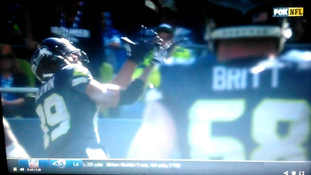 Seattle Seahawks What Russell Wilson Injury Nah We Still Win Over 49ers