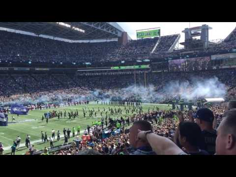 Seattle Seahawks Season Opening 2016 vs Miami Dolphins