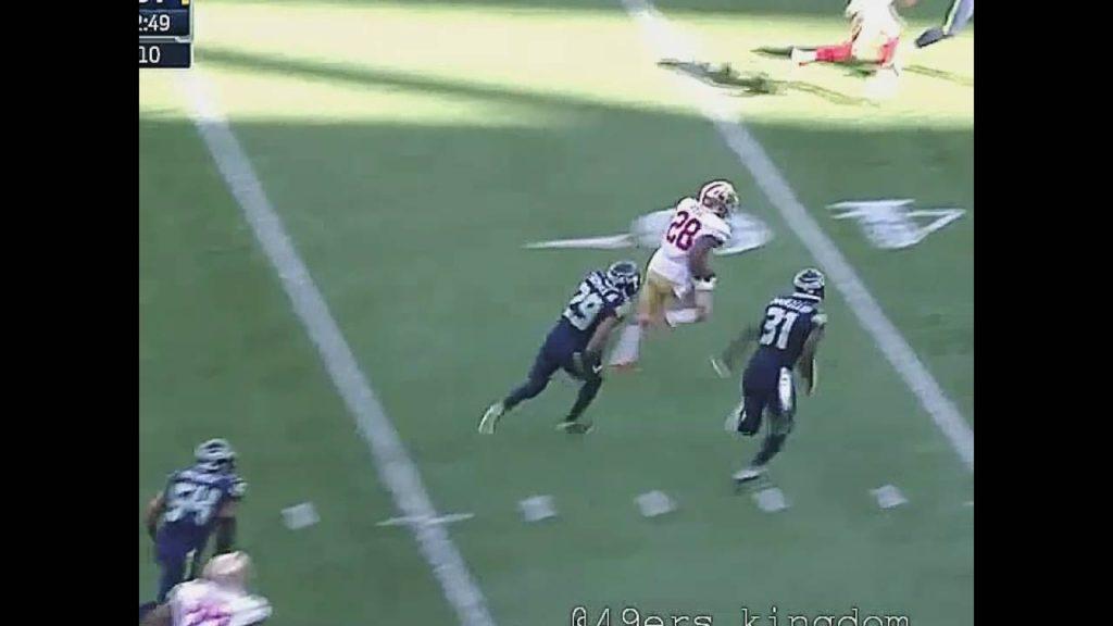 2016 49ers vs Seahawks  ( Hyde, Bellore)