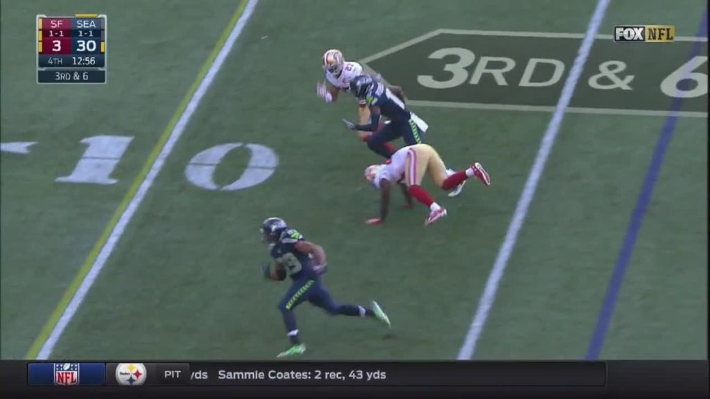 #Seahawks touchdown…why is #RusselWilson still i… by austink NFL Football: 49ers at Seahawks FOX