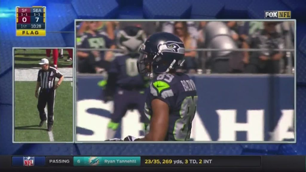 Big different today? Guys are going out and … by ktvbsportsguy NFL Football: 49ers at Seahawks FOX