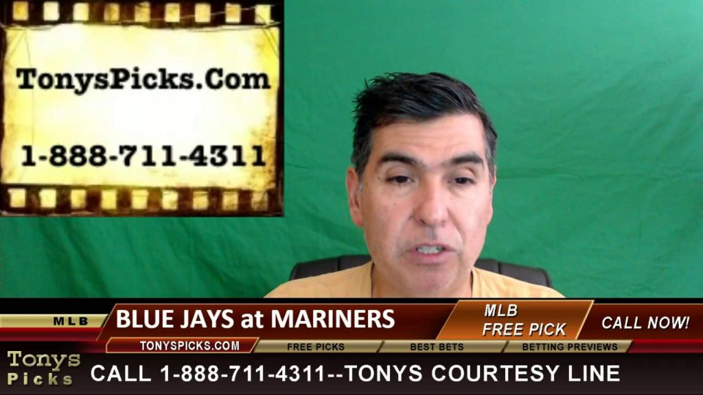Toronto Blue Jays vs. Seattle Mariners Pick Prediction MLB Baseball Odds Series Preview