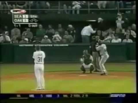 2003 MLB. Seattle Mariners vs Oakland Athletics