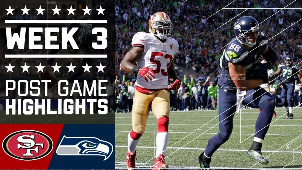 NFL Week 3 | 49ers vs. Seahawks FULL GAME | 2016-17 NFL Regular Season