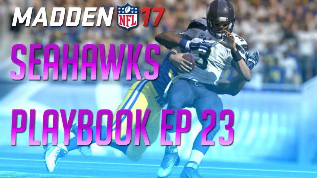 Madden 17 Playbook Tips – Seahawks Offensive Breakdown