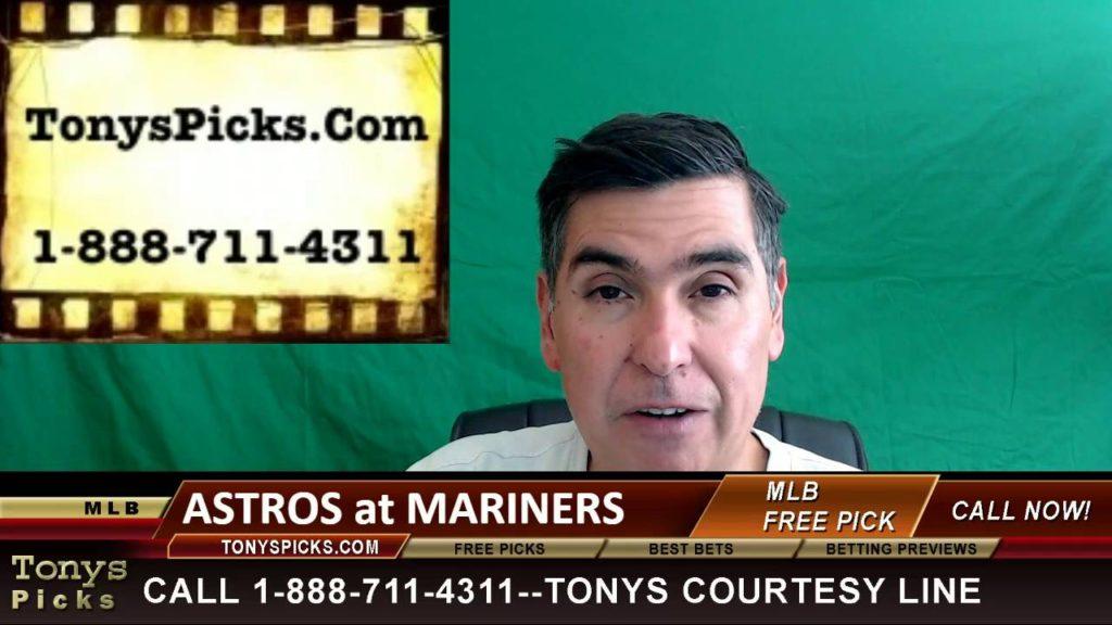 Houston Astros vs. Seattle Mariners Pick Prediction MLB Baseball Odds Series Preview