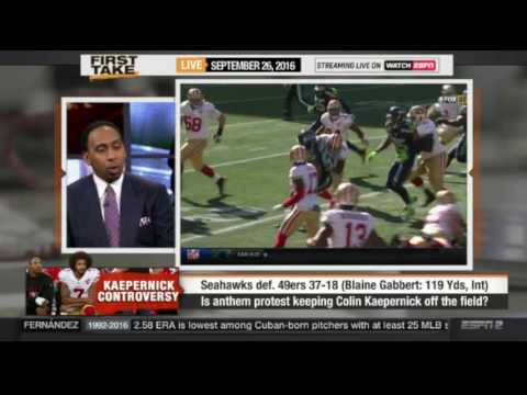 ESPN First Take Today 9/26/2016 Seahawks vs 49ers (37-18)