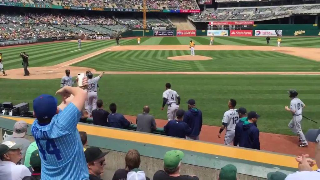 Cool little vid Mariners vs Oakland