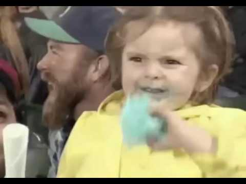 Mariners' cotton candy girl viral on youtube – don't miss