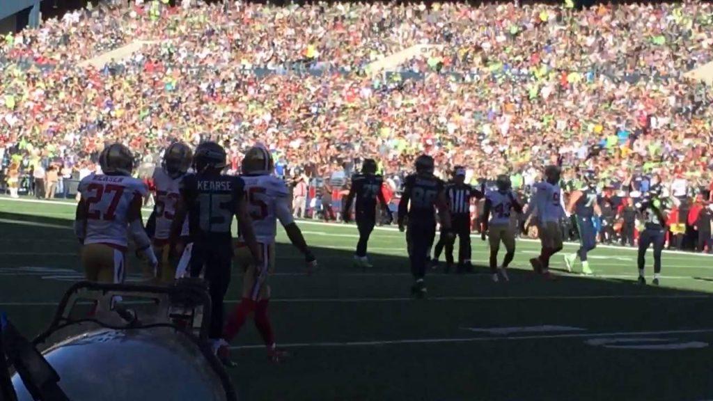 Catch by Seattle Seahawks Doug Baldwin