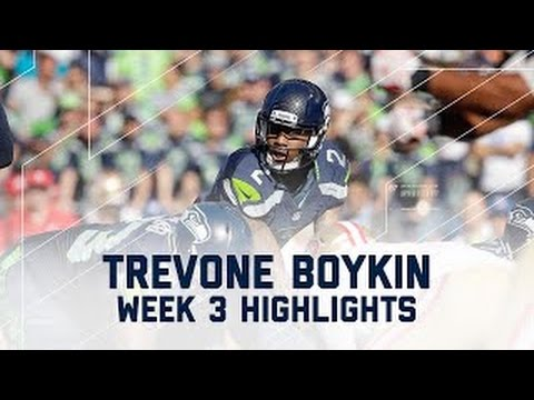 Trevone Boykin Highlights (Week 3)   49ers vs. Seahawks   NFL