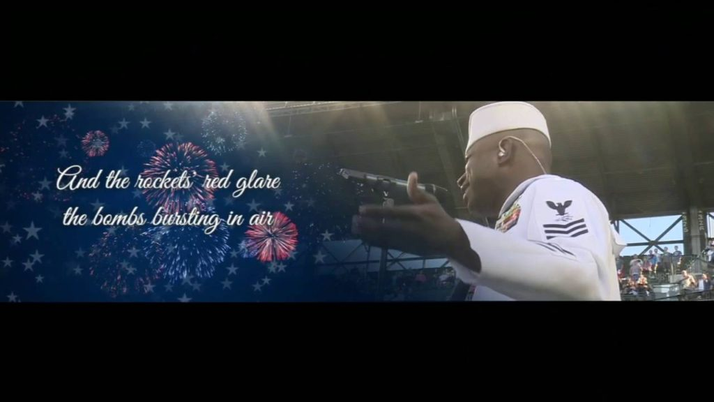 Yarrick Conner – Seattle Mariners vs Los Angeles Angels game performs the National Anthem