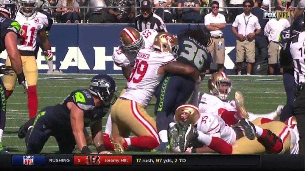 Seattle Seahawks   San Francisco 49ers 25 09 16