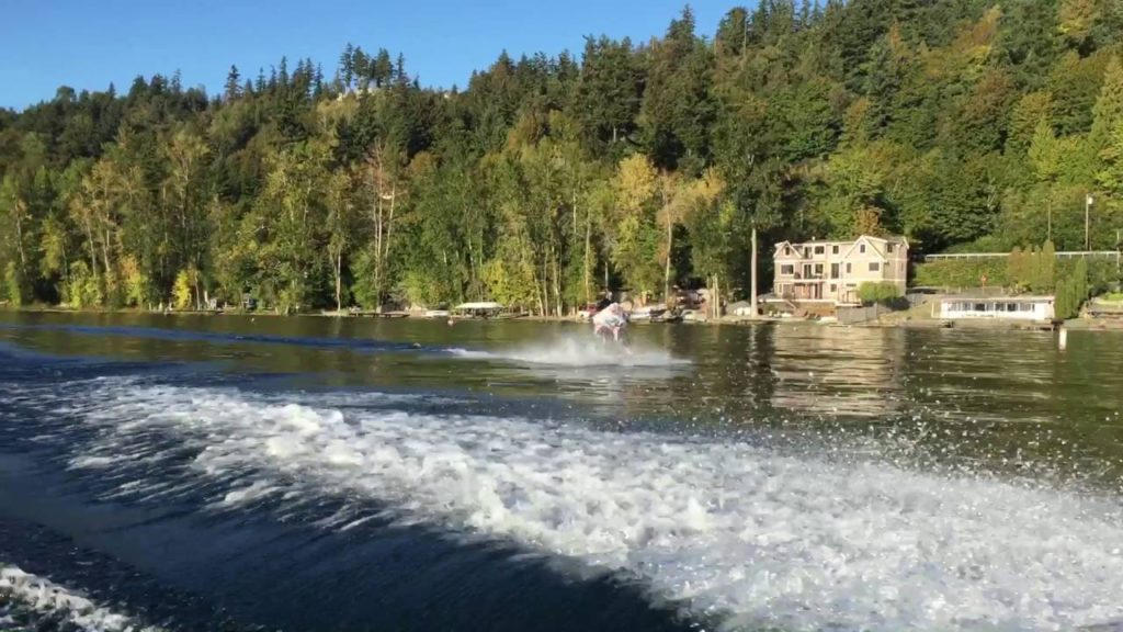 Dale wakeboards with a Seahawks jersey on?? #24