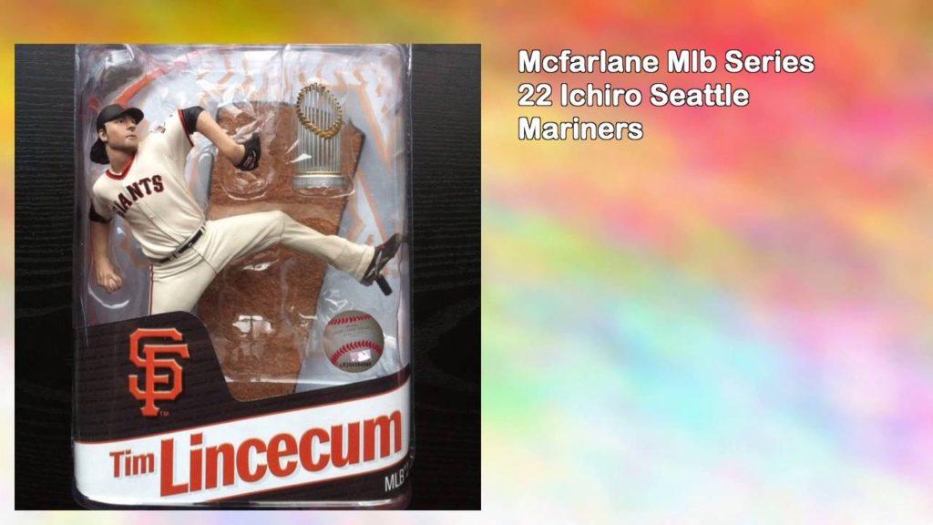 Mcfarlane Mlb Series 22 Ichiro Seattle Mariners
