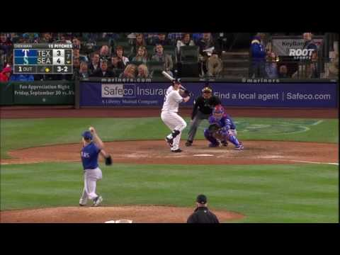 Mariners Best the Rangers