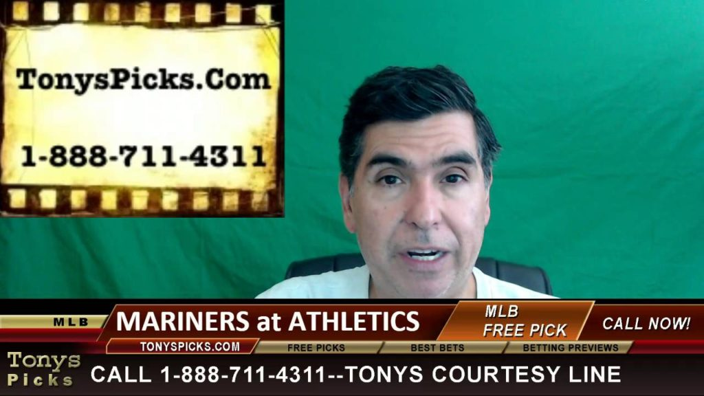 Seattle Mariners vs. Oakland Athletics Pick Prediction MLB Baseball Odds Series Preview