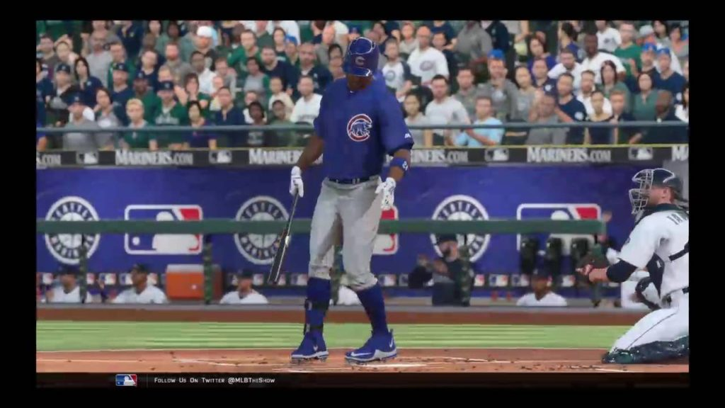 MLB 16: Chicago Cubs vs Seattle Mariners Gm 27/29