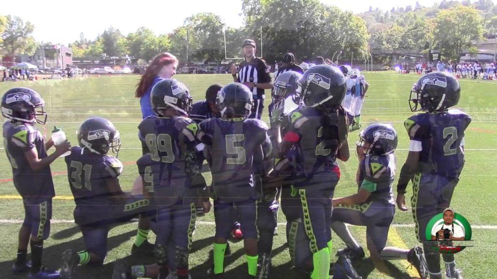 CD Panthers vs. Seattle Jr. Seahawks 89ers 2016 (Week 4)