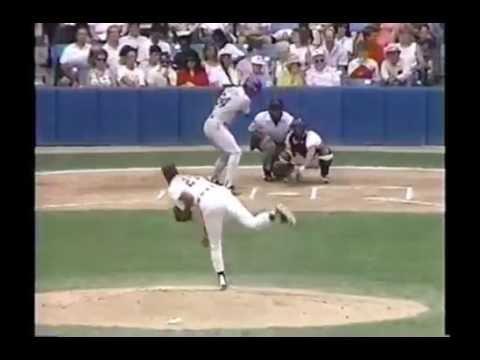 1989 MLB. Seattle Mariners vs Detroit Tigers