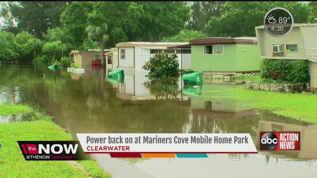 Power back on at Mariners Cover Mobile Home Park