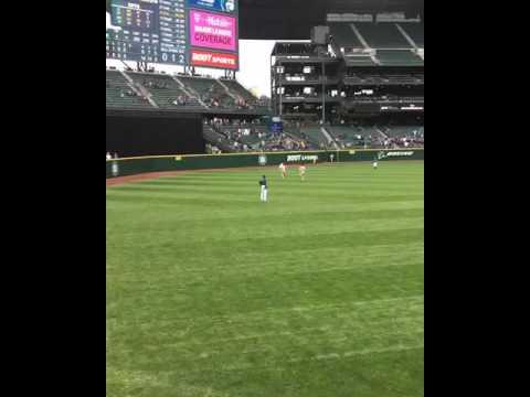 Seattle Mariners vs Texas Rangers  Labor Day runner 9/5/2016