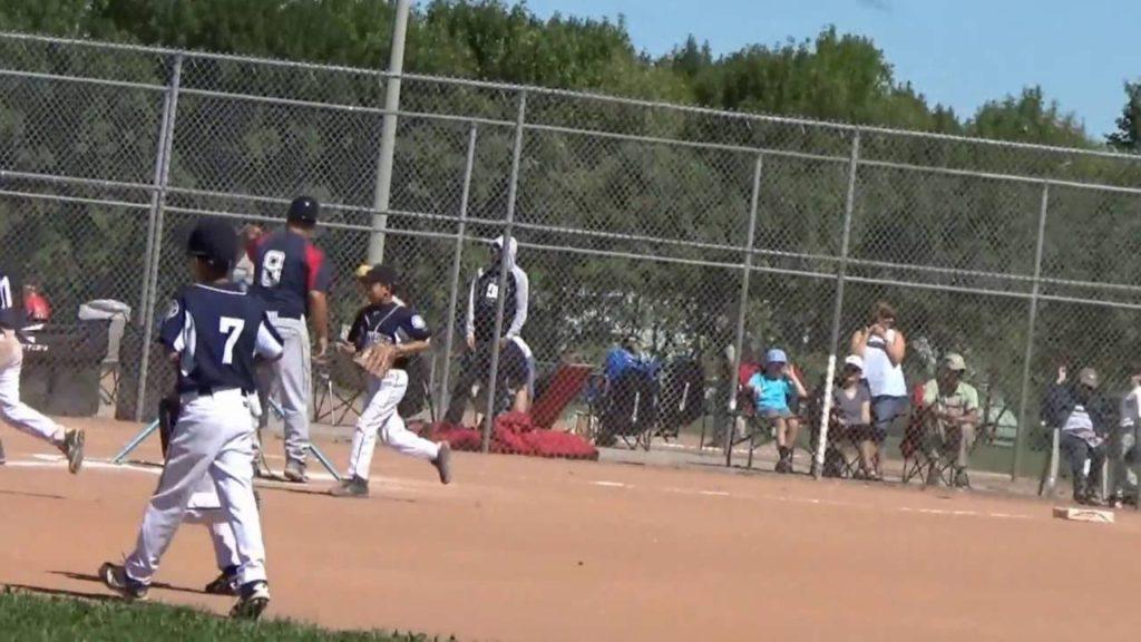2016 – Ontario Baseball Provincials   Minor Rookie A Markham Mariners vs Whitby Chiefs