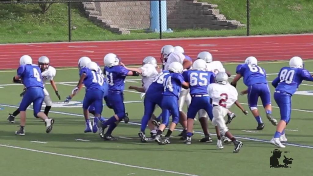 TJ Football Highlights from Shumate Seahawks vs Southgate Titans Sept. 15,  2016
