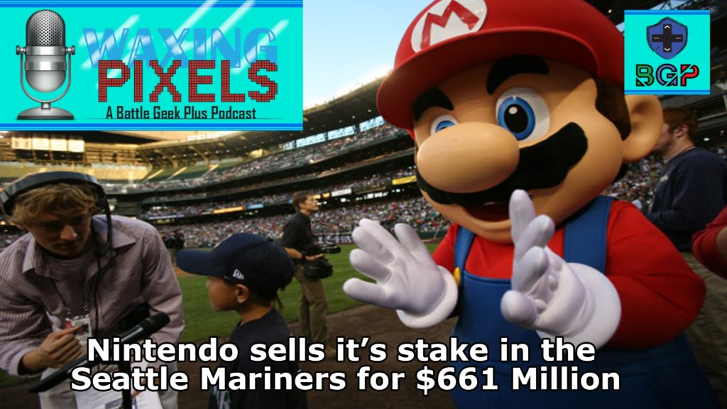 Nintendo Sells it's Stake in Seattle Mariners for $661 Million #WaxingPixels