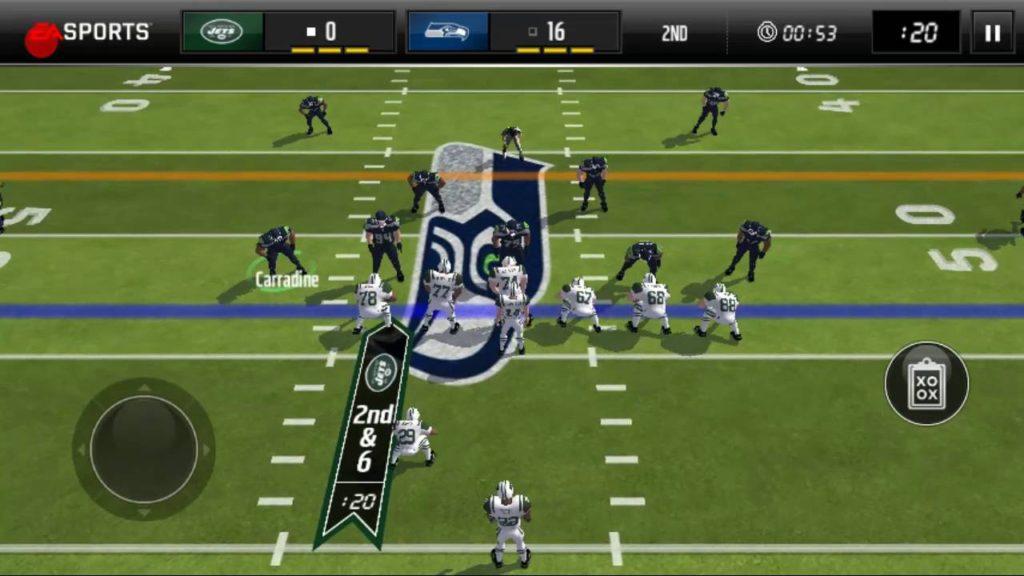 Madden mobile – Seahawks vs Jets