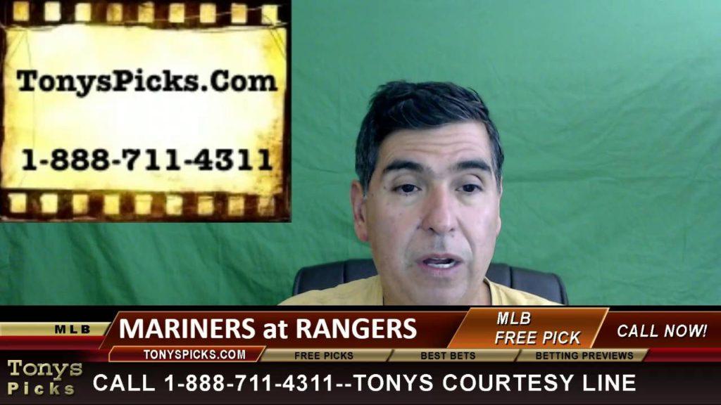 Seattle Mariners vs. Texas Rangers Pick Prediction MLB Baseball Odds Series Preview