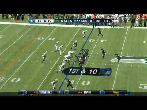 Jets vs Seahawks 2012 Highlights