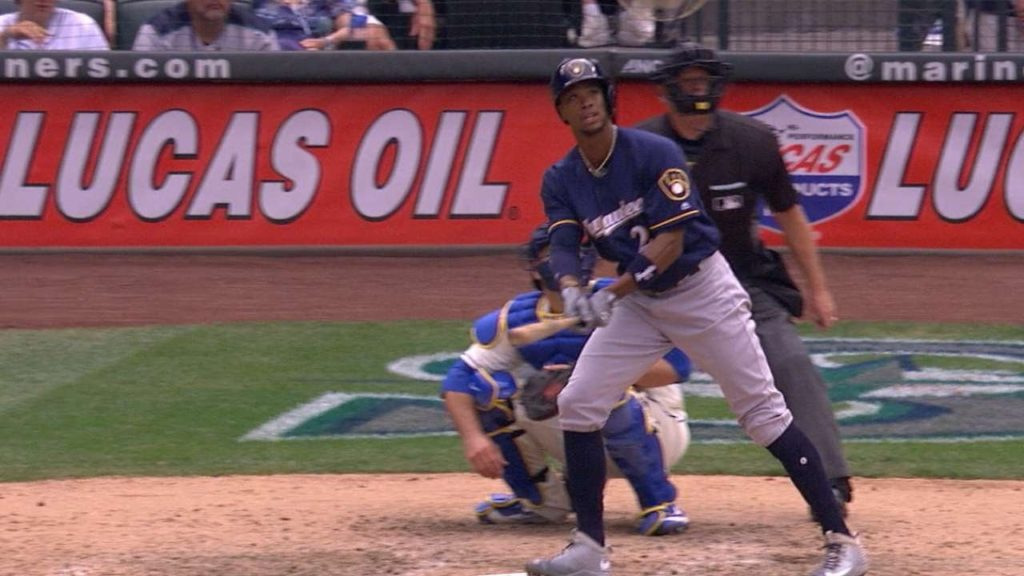 MIL@SEA: Broxton clubs two home runs vs. Mariners
