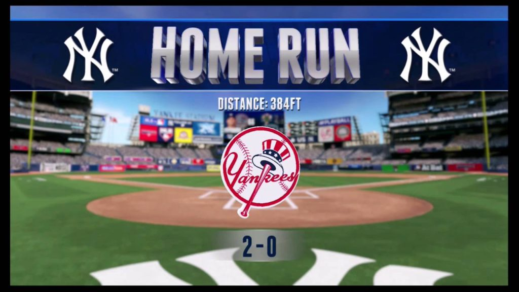 RBI Baseball 16 Season Mode: Yankees vs  Mariners Home Run Moments
