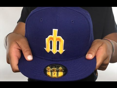 Mariners '1987-91 COOPERSTOWN' Fitted Hat by New Era
