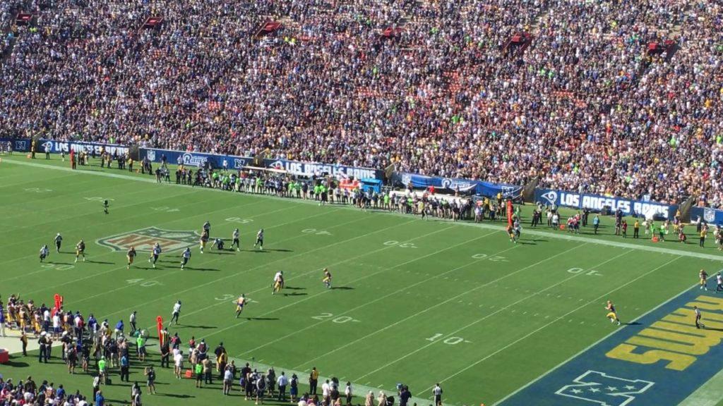 Agoura Chargers Football: Rams Game v Seahawks