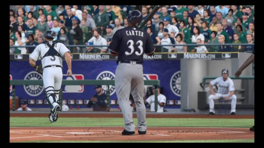 MLB The Show 16: Milwaukee Brewers at Seattle Mariners