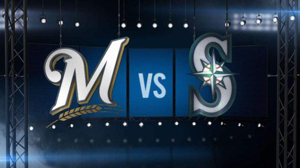 8/19/16: Home runs help Mariners top Brewers, 7-6