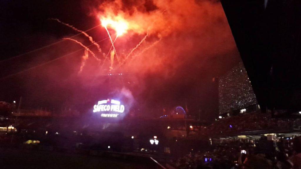 Mariners Star Wars Fireworks Night