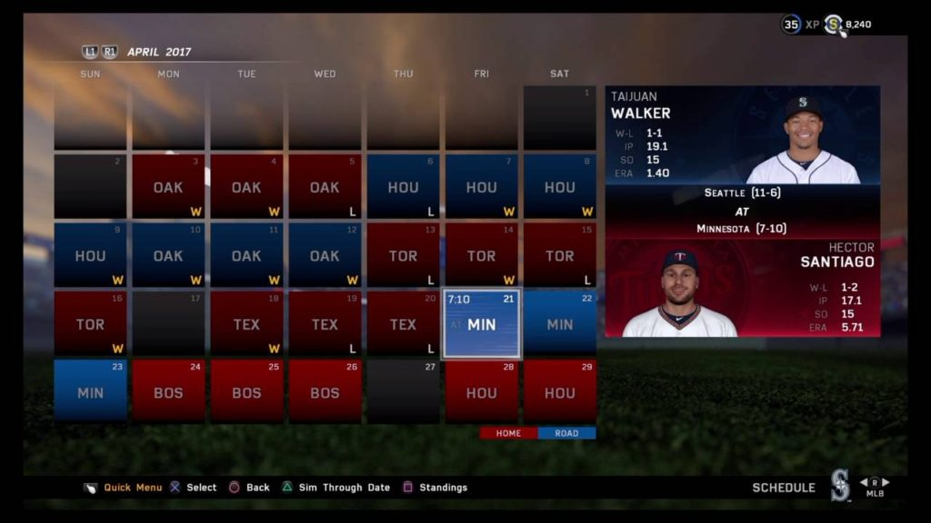 SEATTLE MARINERS FRANCHISE S2 EP.3 MONTH OF APRIL