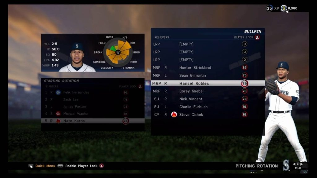 SEATTLE MARINERS FRANCHISE EP. 25 SEASON WINDING DOWN PLAYOFF PUSH CONTINUES