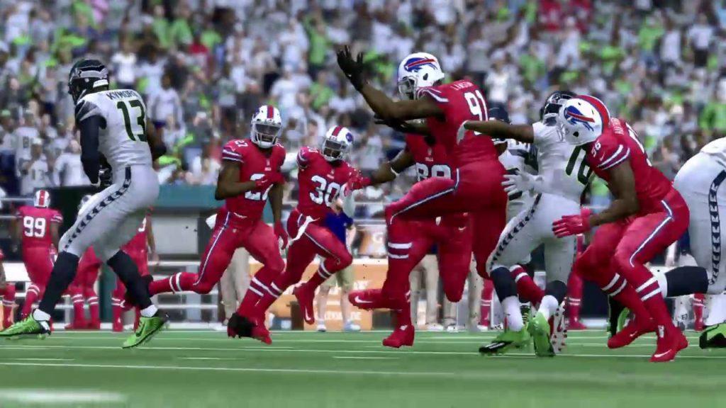 Madden 17- Seahawks Vs Bills Week 9 (WR)