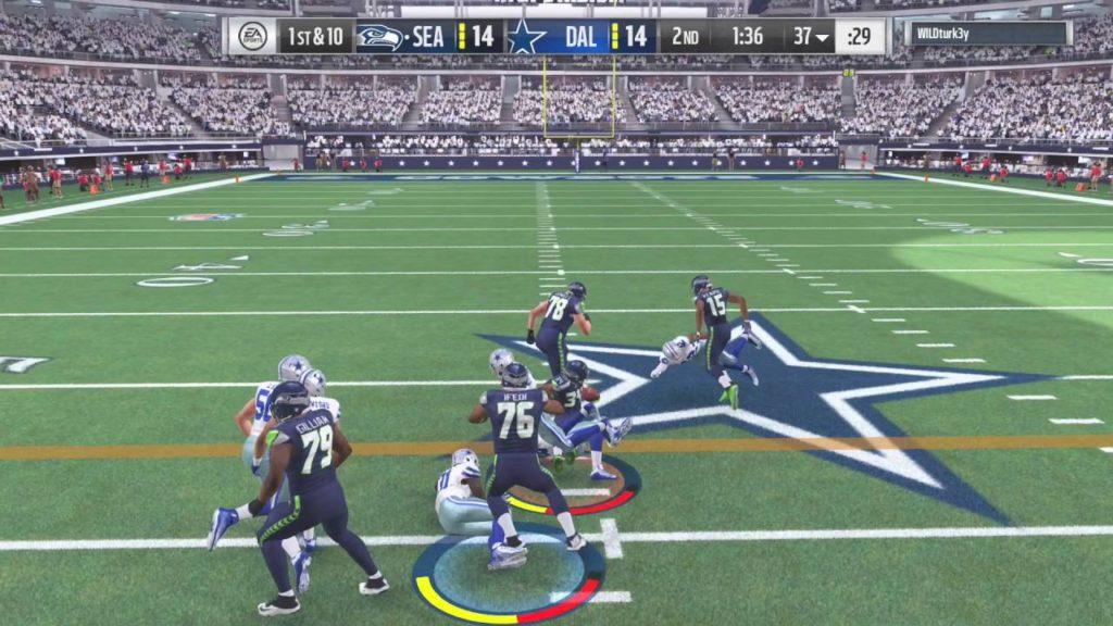 Madden NFL 17- The User! – Seahawks v Cowboys