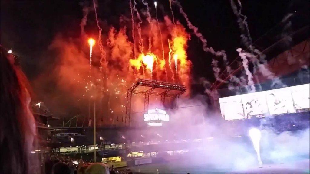 Mariners Fireworks Night 2015