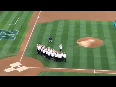 Olympia Chorus – National Anthem, Seattle Mariners Game