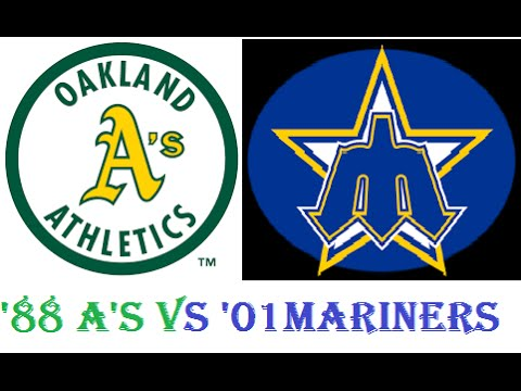 '88 Oakland A's @ '01 Seattle Mariners