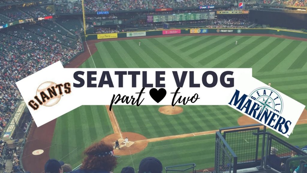 SEATTLE VLOG TWO: GIANTS FANS OR MARINERS FANS?!