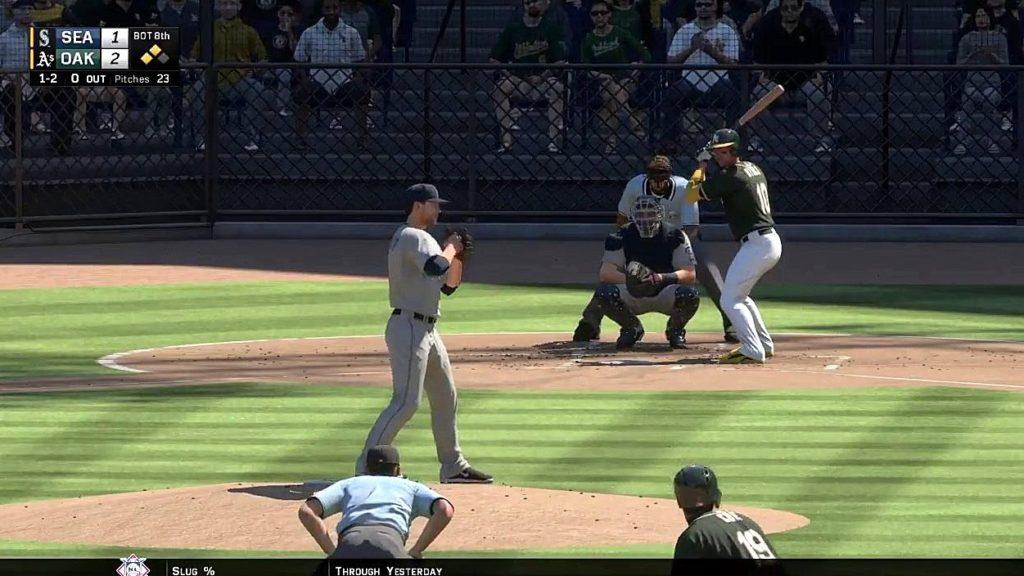 Athletics Baseball 2016 – MLB The Show 16: vs Seattle Mariners (Game 3)