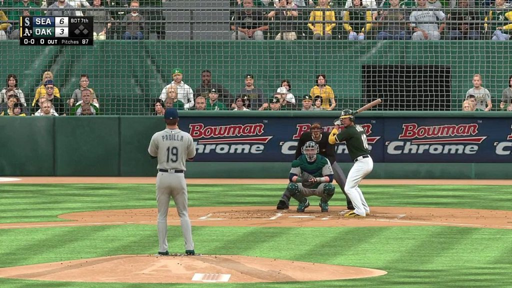 Athletics Baseball 2016 – MLB The Show 16: vs Seattle Mariners (Game 2)